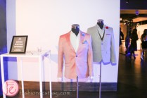 silent auction suits at frocktail party 2014