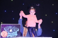 jessica garlicky jessgo the sound of art exhibit cute girl dancing on dj booth