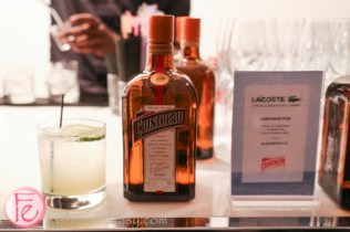 cointreau cocktail at lacoste spring summer 2015 shoe collection preview