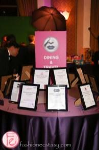 mirror ball 2014 silent auction table