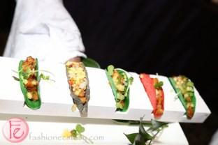 chicken tacos at mirror ball 2014