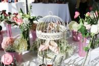 nine west heals in bird cage garden party