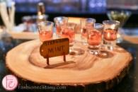 schnitzel hub's house-infused strawberry mint vodka
