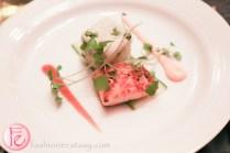 togarashi seared salmon at silver ball 2014 fairmont royal york