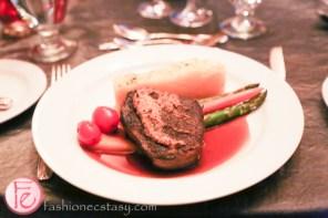 beef tenderloin filet at silver ball 2014 fairmont royal york