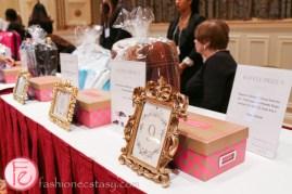 tea & tiaras auction table