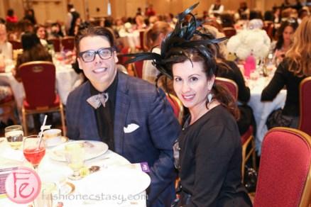 david dunkley at tea and tiaras starlight children's foundation