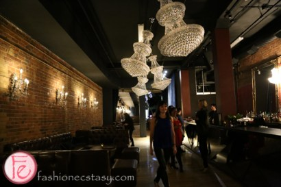 CC Lounge on Front chandelier