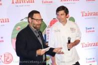 Chef Stuart Cameron at taste taiwan 2014