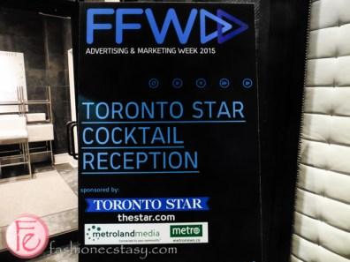 FFWD Toronto Star Cocktail Reception 2015 poster