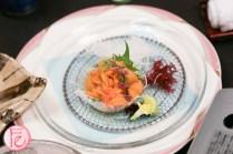 Hyousetsu-no-mon uni sashimi