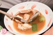 hairy crab soup at Hyosetsu