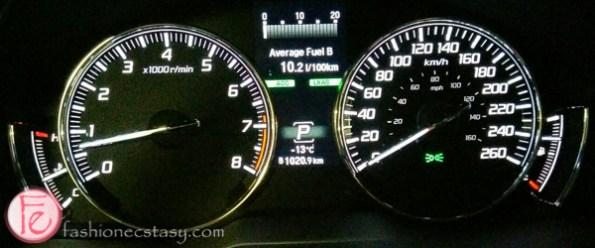 2014 Acura RLX ELITE dashboard