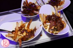 poutine at book lover's ball 2015