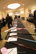 hockey sticks conn smythe sports celebrities dinner and auction 2015