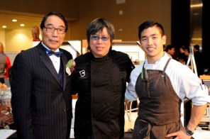 Yee Hong Stephen Siu, Chef Alvin Leung and Chef Eric Chong