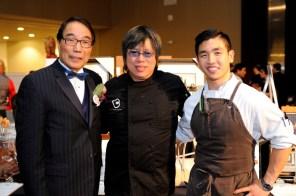 Yee Hong Stephen Siu, Chef Alvin Leung and Chef Eric Chong