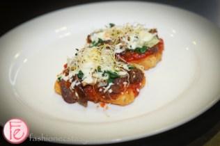 Asian-Style Crispy Tofu Pizza