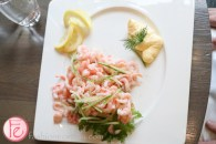 Atlantic Shrimp with lemon, mayo and dill