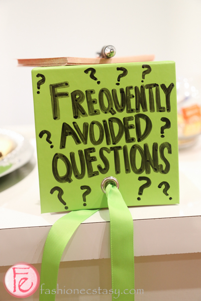 frequently avoided question box