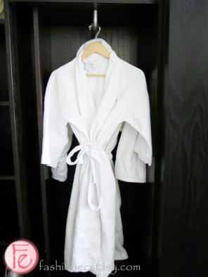 robe at Shaw Club Hotel and Spa Niagara-on-the-Lake