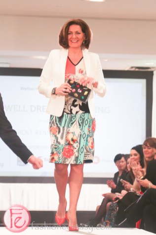 Lisa LaFlamme well dressed for spring 2015 wellspring fashion show