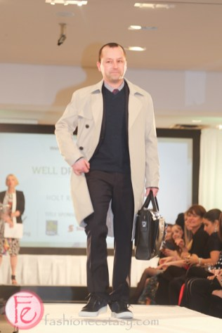 Brian Price well dressed for spring 2015 wellspring fashion show