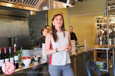 Barton & Guestier Cooking Class at the Nella Cucina Kitchen