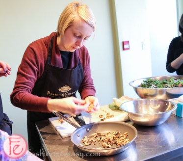 nell a cucina cooking class with barton guestier wine