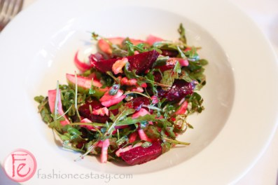 beet fennel and apple salad nell a cucina cooking class with barton guestier wine