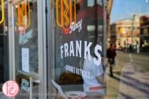 fancy franks gourmet hot dog queen west