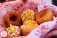 fancy franks gourmet hot dog queen west mini donuts