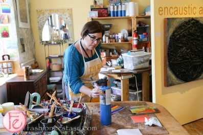 alton mill Encaustic Art