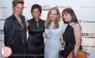 Waneek Horn Miller, Marci Ien, Marilyn Field, Jeanne Beker darearts leadership awards 2015
