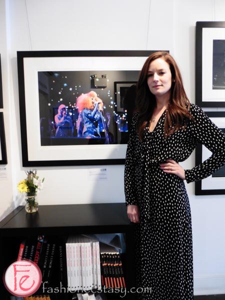 Lucia Graca with her Bjork photo