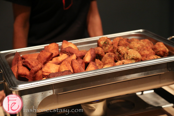 spicy potato balls and mandazi food station mamatoto gala