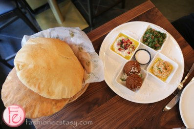 appetizers with pita