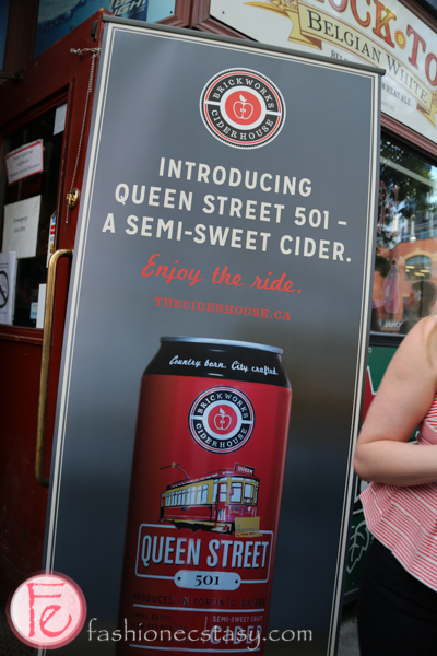 queen street 501 cider launch