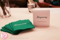 green tanqueray napkins