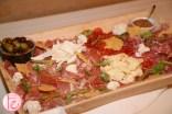 cheese and prosciutto board