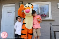 tigger with kids