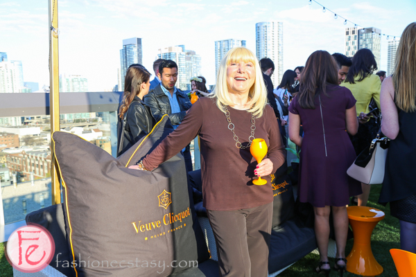 sara waxman veuve clicquot yelloweek launch party thompson toronto