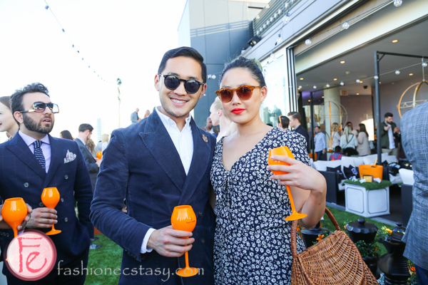lance chung veuve clicquot yelloweek launch party thompson toronto