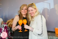 deb lewis veuve clicquot yelloweek launch party thompson toronto