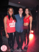 bacardi fuego launch party tryst