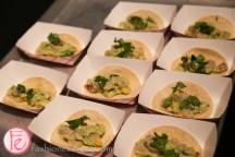 white tuna ceviche by Fidel Gastro's come together 2015 artheart community art centre