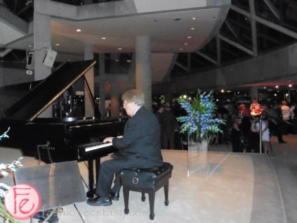 pianist at icff opening party