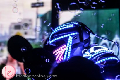 led dancing robot scrubs in the city gala 2015 tokyo for sickkids