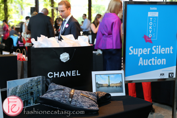 silent auction chanel bag