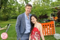 Galen Weston Jr. and Tanya Hsu veuve clicquot rich champagne launch toronto